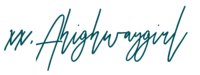 A highwaygirl signature