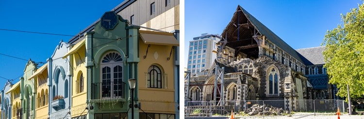 Places that impress: Christchurch 8 years after the earthquakes - A city of contrast
